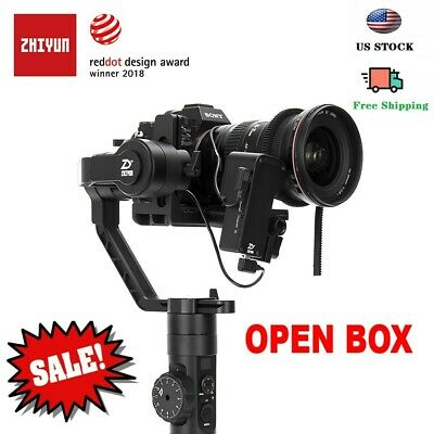 45%OFF!!!  Zhiyun Crane2 Gimbal Stabilizer with Follow Focus Kit for DSLR