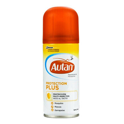 Repelente de Mosquitos en Spray Seco Autan (100 ml)