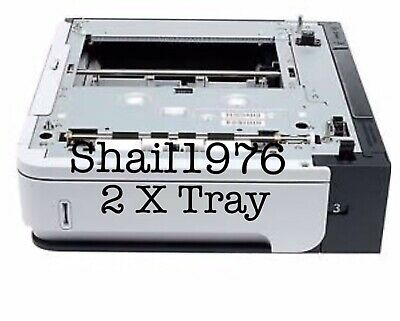 2 X 500 Sheets Feeder Tray for HP Laser Jet P4015 P4515 M601 M602 M603 .