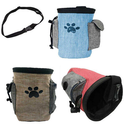 Pet Dog Treat Bag Outdoor Training Feed Pouch Puppy Snack Food Belt Storage Bag