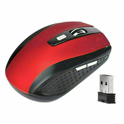 Hot 24 GHz Wireless Mouse 5 Buttons Optical Wirele Computer Mausus 2400 U7X P4M7