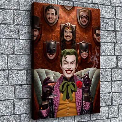 "16""x24""Clown 2 HD C12X18 anvas Prints Painting Home Room Decor Picture Wall Art"