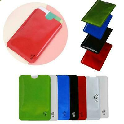 RFID Bank Card Blocking Contactless Debit Credit Protector Holder Card Z2D9