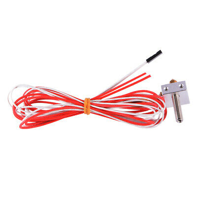12V 1.75mm Filament 0.4mm Nozzle Extruder Metal DIY Hot End for 3D Printer TE599