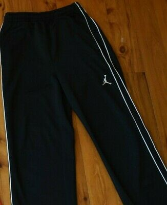 NIKE Boy/'s OPEN HEM THERMA PANTS ** ANTHRACITE//BLACK L XL ** NWT M S