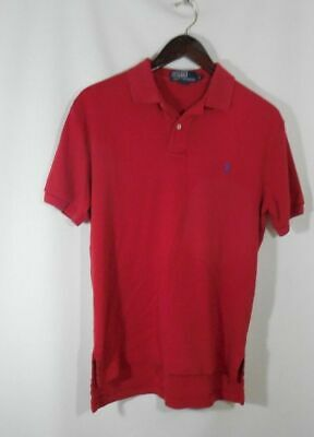 Polo by Ralph Lauren Classic Red Polo Shirt in Men's Size Small (SM)
