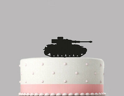 Tank Army Birthday Cake Topper Decoration. 120mm Topper.837