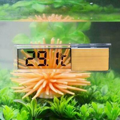 Super LCD 3D Crystal Digital Measurement Fish Tank Reptile R1W8 Aquarium Th D1X9