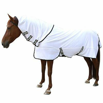 KERBL COUVERTURE RUGBE SUPERFLY_BLANCHE 125 CM POUR CHEVAL TAILLE XS (6s0)