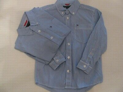 Set of 2 NWT Boy's Tommy Hilfiger Button-Down Shirts Size 2T 4
