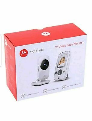 Motorola MBP481  2.4 GHz Digital Video Baby Monitor with 2-Inch Color Display