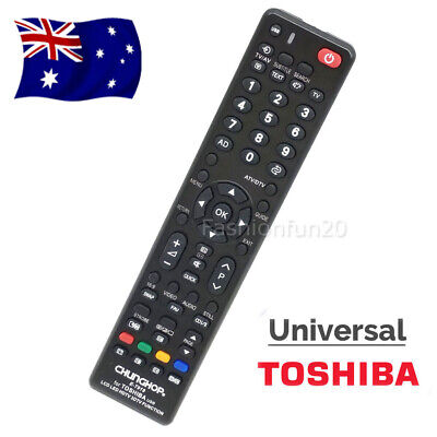 NEW Universal Toshiba TV Remote Control Replacement | 3D LCD LED HDTV HD TVs AU