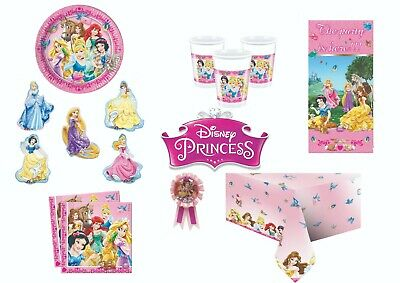 Disney Princess & Animals Girls Birthday Party Tableware Loot Bag Gifts Favours
