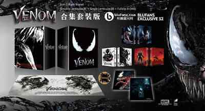 Blufans Marvel Venom 4K bluray WEA OAB steelbooks Black Collectors Box 1click