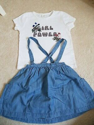 Girls Next Outfit 12-18months Good Condition very cute skirt & top 💕