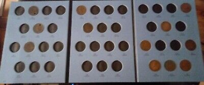 Canadian Large Cent lot of 12 coins and album