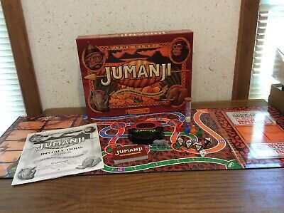 JUMANJI BOX BOARD GAME Full Sized CARDINAL 2017 EDITION