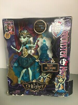 Monster High - Haunt The Casbah - Frankie Stein - 13 Wishes NEW Distressed Pkg