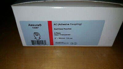 Coloplast 14357 Assura AC EasiClose Drainable Pouch, Maxi, Transparent Box20