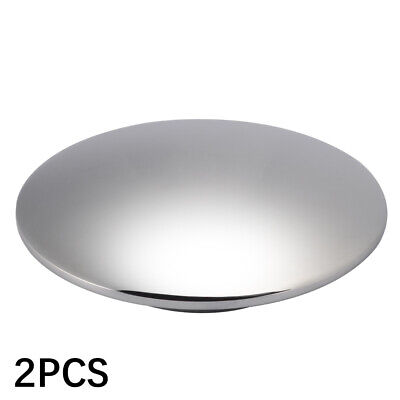 UN-SLOTTEDE CHROM CLICK CLACK BASIN TAP PUSH BUTTON POP UP BRASS WASTE SLOTTED