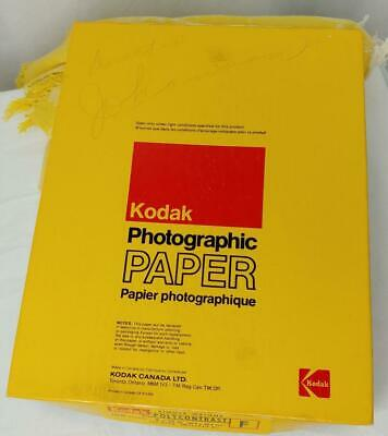 KODAK  PHOTOGRAPHIC PAPER 50+ 8x10 SINGLE WEIGHT POLYCONTRAST 8x10