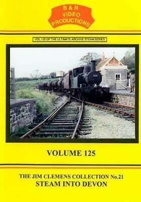 B & R 125 DVD Steam Into Devon Steam Rail Train Video