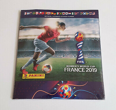 Album Panini Fifa Women World Cup 2019 Complete Set Factory Sealed