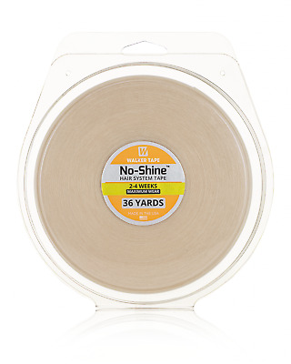 """WALKER TAPE No Shine Support Tape 3/4"""" X 36 yrd Roll hairpiece wig toupee tape"""