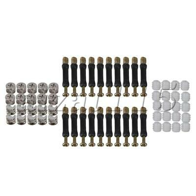 BED FURNITURE CUPBOARD WARDROBE REPAIR FIXING KIT LOCKING SCREW BOLT NUT PARTS