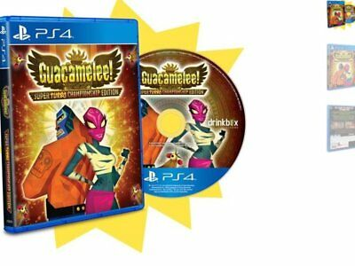 Guacamelee super turbo ps4 playstation 4 limited edition Nuevo New