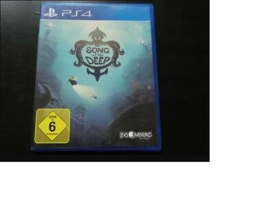 Song of the deep ps4 playstation 4 limited edition