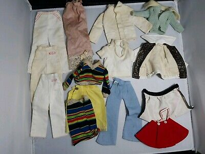 Barbie Doll 70s Clothes Lot pieces for Repair or Remake ALL TLC DIY
