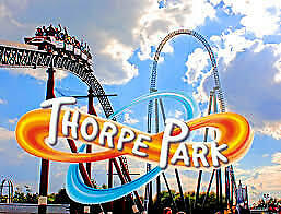 2 x Thorpe Park Tickets Valid 9/9 - 9 September 2019 - Free Signed For P&P