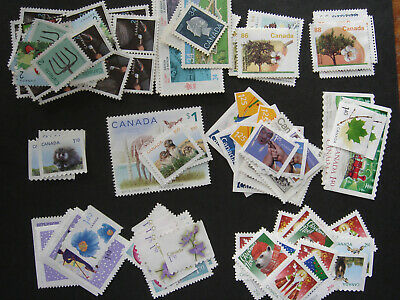 Canada: $100 face value fv unfranked uncancelled no gum stamps **FREE SHIPPING**