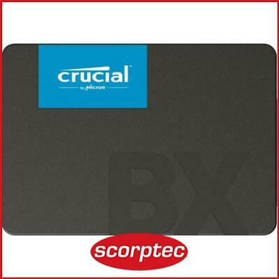 Crucial BX500 120GB SSD, 2.5in SATA 7mm