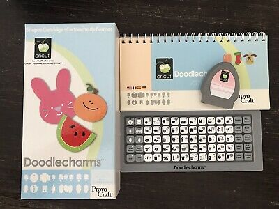 "Cricut Cartridge ""Doodlecharms"""