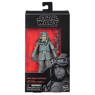 "Star Wars The Black Series Han Solo (Mimban) 6"" Action Figure"
