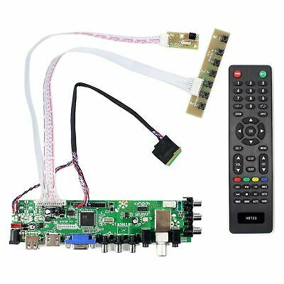 For 7inch 10inch LCD Screen N070ICG-LD4 LP101WX1 HDMI VGA USB DTV LCD Controller