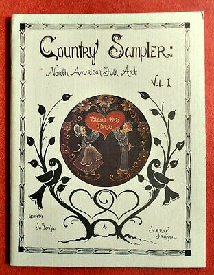 JO SONJA ~ Country Sampler ~ NORTH  AMERICAN   FOLK ART ~ Vol. 1  ~ SC Book