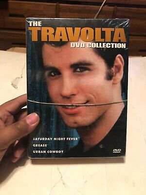 The Travolta Collection (DVD 2002) 3 Film Collection NEW