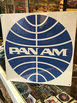 Pan Am Retro Metal Sign