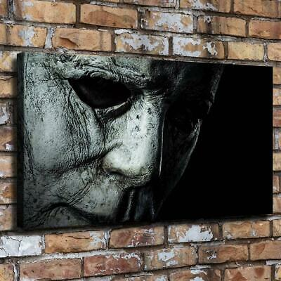 "Halloween Horror Face HD Canvas Prints Painting Home Decor room Wall Art 20""x36"""