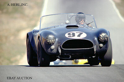 AC Cobra 1963 & Dan Gurney - 1963 Riverside 1 Hour race - AC Cobra / Shelby Ford