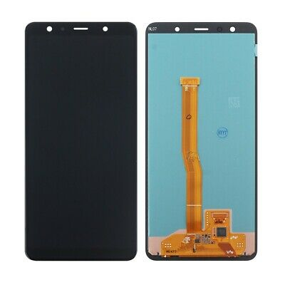 Per Samsung Galaxy A7 2018 SM-A750FN LCD Display Touch Screen Vetro Schermo