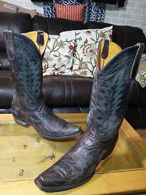 d82be7216b3 OLD GRINGO NEVADA Cowboy Boots Chocolate Woman's size 7 - $388.00 ...