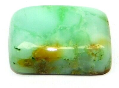 Natural Chrysophrase Loose Gemstone Cabochon Lot Cushion 21Cts 21x14MM 28496