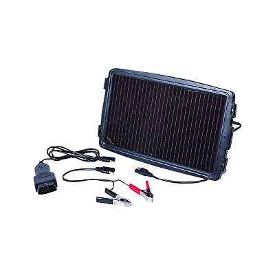 AA 5060114614185 Solar-Powered Car Battery Charger, Black .