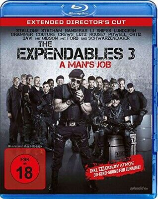 The Expendables 3 - UNCUT Extended Director's Cut Blu Ray