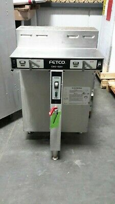 Used FETCO CBS-52H Coffee Brewer