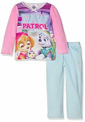 Nickelodeon Girl's Paw Patrol Pyjama Set Pink skye and everest 3-4 years